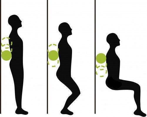 Приседания позволят укрепить колени