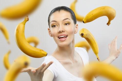 Банановая кожура улучшает состояние кожи