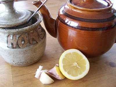 Чай из чеснока и лимона и атеросклероз