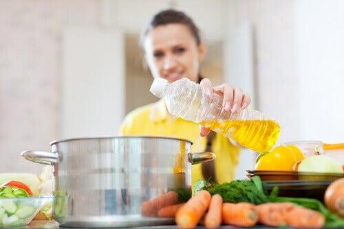Масла на кухне
