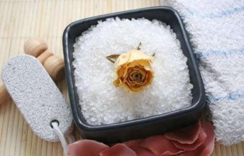 Морская соль поможет победить целлюлит