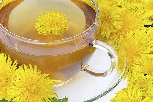 Чай из одуванчика и детоксикация