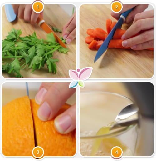 Как приготовить коктейль из моркови