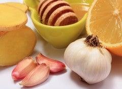 Чеснок и целебные продукты