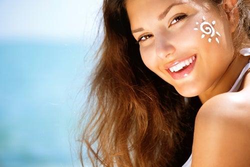 Солнцезащитный крем и кожа
