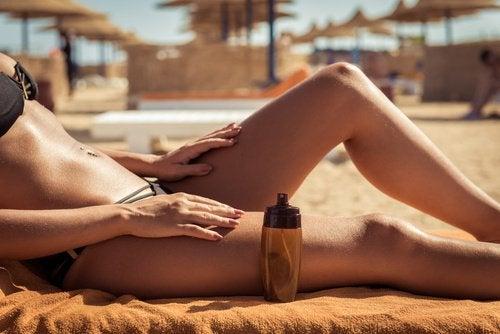 Защита от солнца и натуральные масла