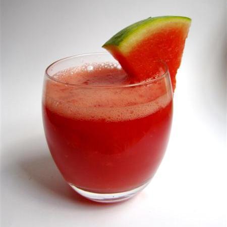 Арбуз и коктейль