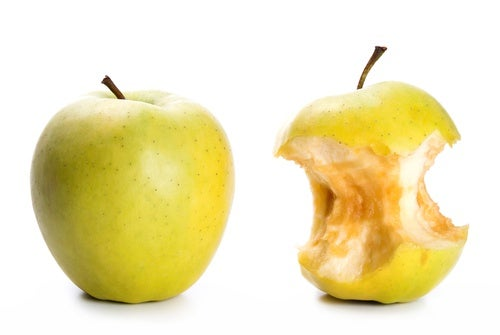 Яблоки на кухне