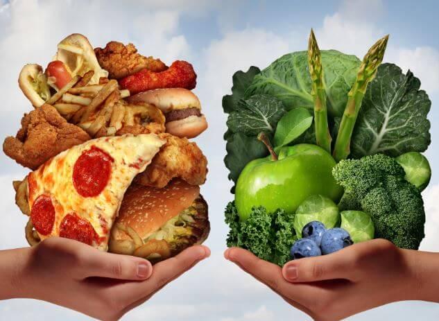 Питание и заболевания