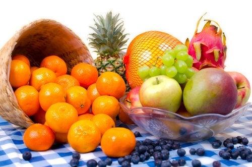 Позитивная энергия и фрукты в доме