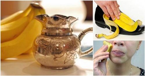 10  удивительных способов использования банановой кожуры