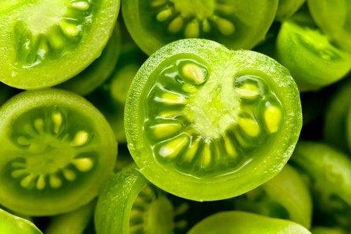 Зеленые томаты чтобы уменьшить варикоз