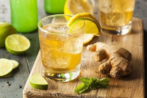 Имбирь и лимон помогут предотвратить мигрень
