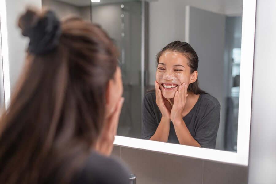 Очистить жирную кожу