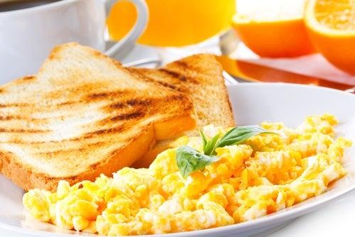 Омлет для здорового завтрака