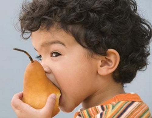 Одна груша в день детям