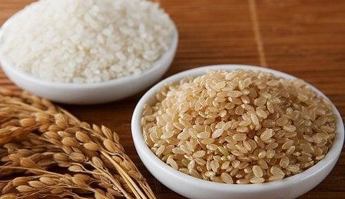 Рис содержит растительный белок