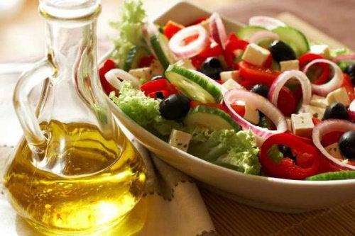 Средиземноморская диета и целлюлит