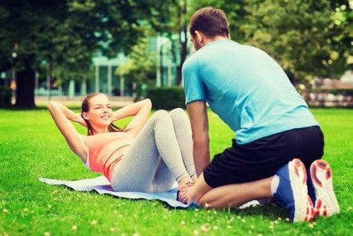 Совместные тренировки укрепляют отношения