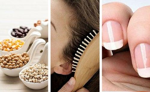 Как укрепить волосы и ногти