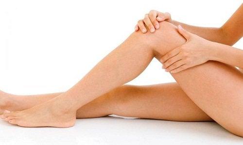 Массаж ног улучшает кровообращение