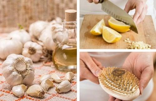 Как приготовить чесночное масло для борьбы с выпадением волос