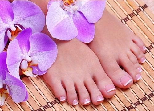 Массаж ног для их красоты
