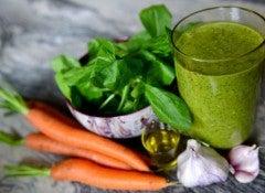 Морковь и шпинат помогут если высокое давление