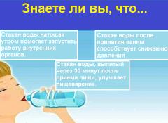 Почему полезно пить воду натощак