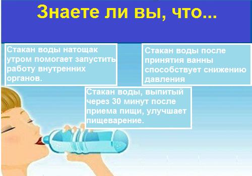10 причин пить воду натощак каждый день
