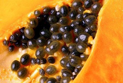 Семена папайи помогут если у вас кишечные паразиты