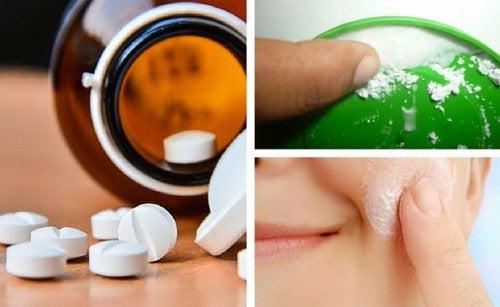 Аспирин и кожа