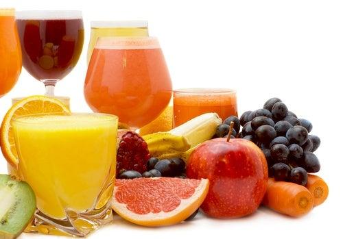Соки из свежих овощей и фруктов