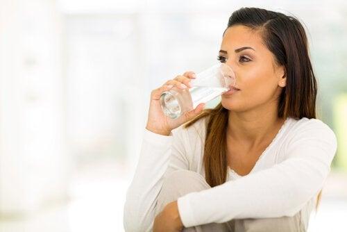 Мочевой пузырь и много жидкости