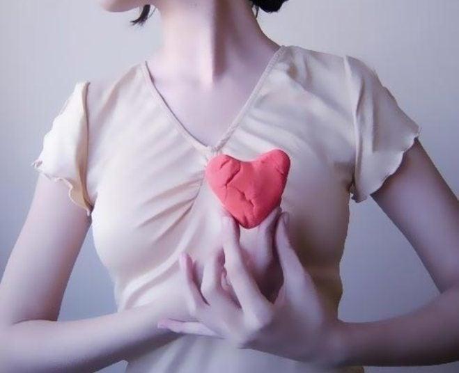 Сердце и баклажан