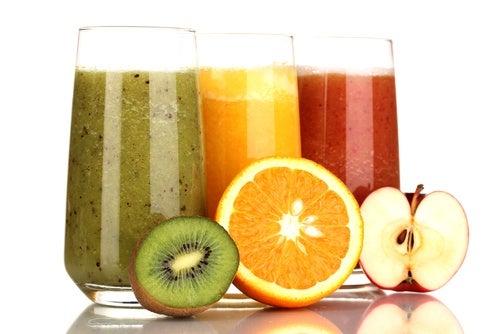 Полезные фруктовые и овощные соки