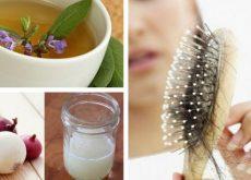 5 лучших домашних средств которые остановят выпадение волос