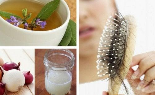 5 лучших домашних средств, которые помогут справиться с выпадением волос