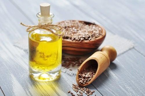 Льняное масло и приливы