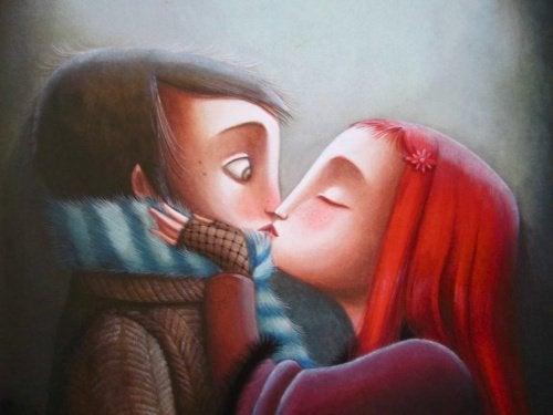 Поцелуи и пара