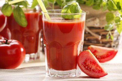 Томатный сок снимет стресс