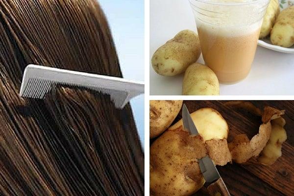 Целебный рецепт: картофельная вода поможет укрепить волосы