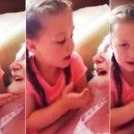 Девочка поет бабушке у которой деменция