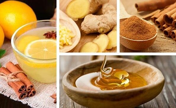 Имбирь, корица и мед хороши сами по себе, но в сочетании в виде настоя они дают необыкновенный эффект.