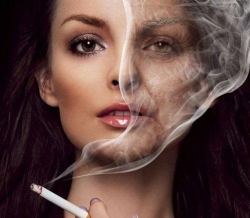 Морщины и употребление алкоголя и табака