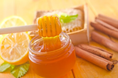 Настой и жидкий мед