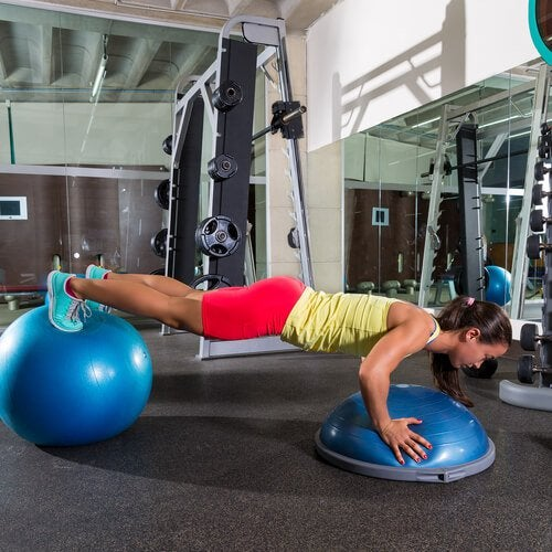 планка и мышцы пресса