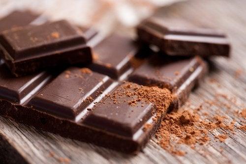 Шоколад поможет снять нервное напряжение