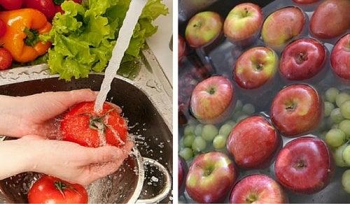 Как удалить пестициды из овощей и фруктов