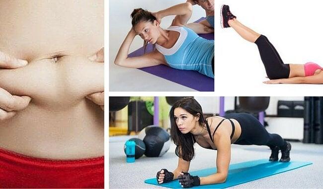 Эти 7 простых упражнений помогут вам убрать жир с живота!